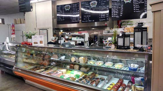 Hilsher's General Store Deli in PA